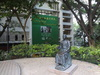 Sun Yat-sen Statue on HKU Campus
